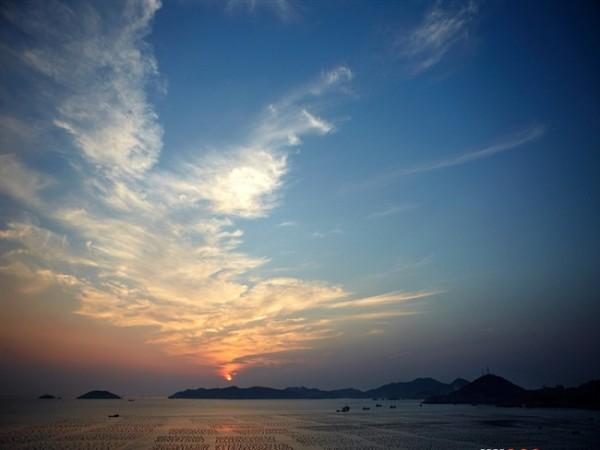 岱山海上风景图