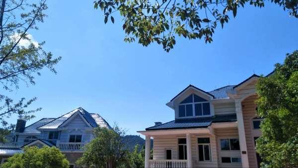 户型:4-5层   独栋大宅自带花园观景露台(西班牙简线条风格)   欧式