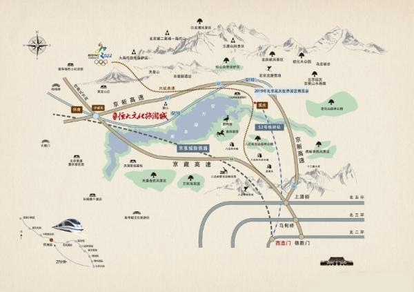 怀来县最新地图
