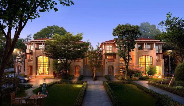 营销中心【楼盘动态】官网  安吉香缇溪岸欧式新古典建筑之——别墅