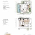 普吉島星空別墅海語墅 獨棟三房 三居 272㎡ 戶型圖