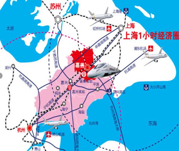 浙江嘉善地图全图