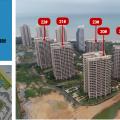 海南长岛蓝湾 建筑规划 二期工程进度