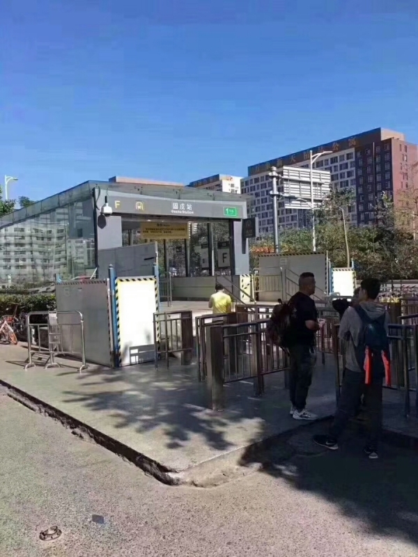 固戍(地铁站)到深圳北站怎么走?  住哪网