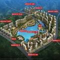 花样年麓湖翡翠湾 建筑规划 整体鸟瞰图