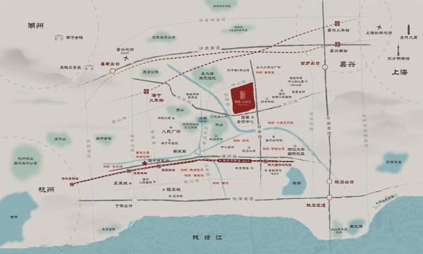 杭浦高速,苏绍高速 铁路:沪昆铁路,沪乍铁路(规划) 地铁:杭海城际铁