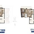 蓝堡14期 两居  户型图