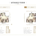 霸州溫泉新都孔雀城 三居  戶型圖