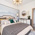 騰沖·和順頤庭 樣板間 溫馨臥室