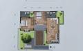 騰沖小院子·棲云間四四方方的小院,一家人的小天地  75㎡ 戶型圖