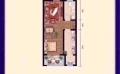 霸州麗水康城經典一居  52平米㎡ 戶型圖