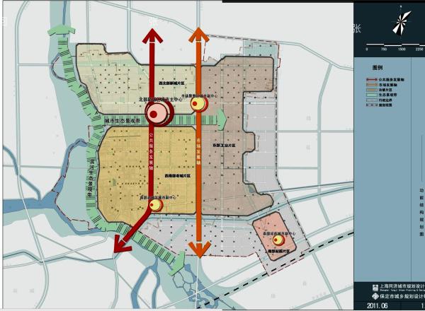 白沟规划白沟城区规划图