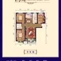 廊坊霸州麗水康城經典三居 三居 108平米㎡ 戶型圖