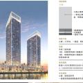 迪拜達馬克梅森Prive公寓 一居  戶型圖