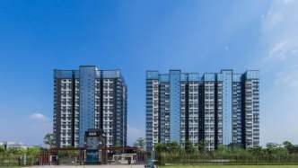 首付28萬起入住小兩房石巖-山水悅城4棟花園社區房