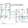雅典南部比港學生公寓 一居  戶型圖