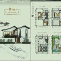 杭州桐廬龍潭渡妙筆神話小鎮 三居 144㎡ 戶型圖