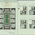 杭州桐廬龍潭渡妙筆神話小鎮合院 三居 128㎡ 戶型圖