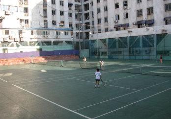 体育局网球中心图片