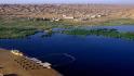 腾格里沙漠月亮湖旅游区