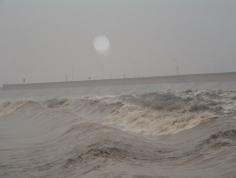 海宁盐官观潮景区图片