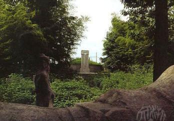 赵孟頫墓图片