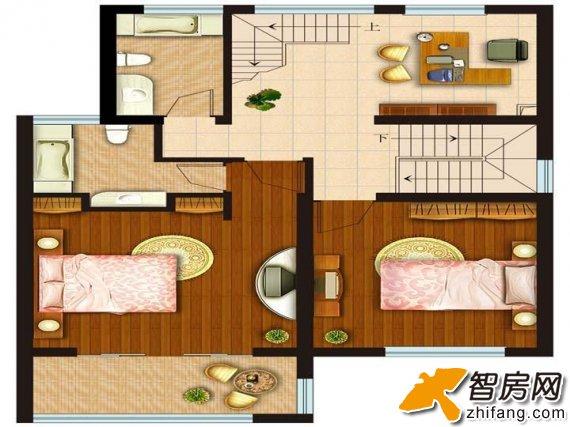 上海丽水湾 复式 户型图图片