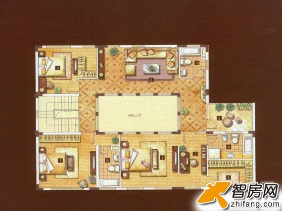 浦江颐城 复式 户型图图片