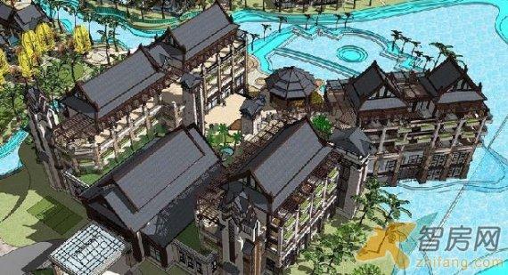 隆规划�_中体奥林匹克花园悦隆庄 建筑规划