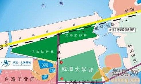 北海新城 北海新城建筑规划