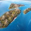 碧桂园森林城市马来西亚 建筑规划 四个人工岛组成