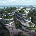 碧桂园森林城市 建筑规划 免税商业区