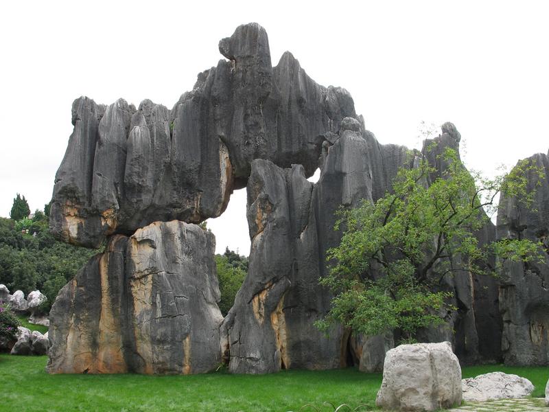 昆明石林1 昆明石林风景区 云南 西南各省 国内著名景点 走